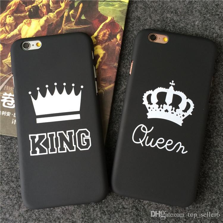 Funda de iPhone king y queen