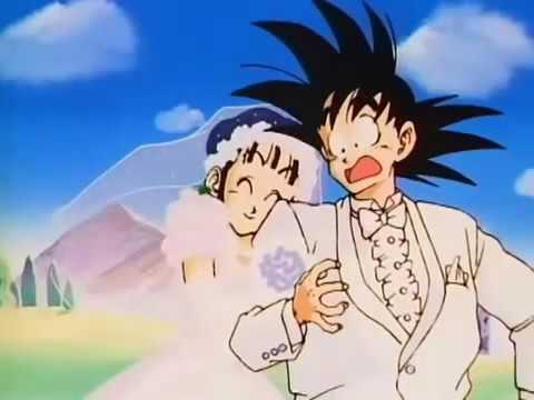Boda de Goku y Milk