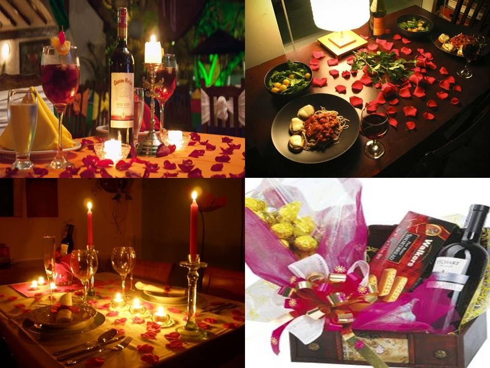 Cena romántica para novias