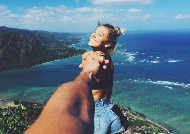 Idea de fotos de pareja de la mano