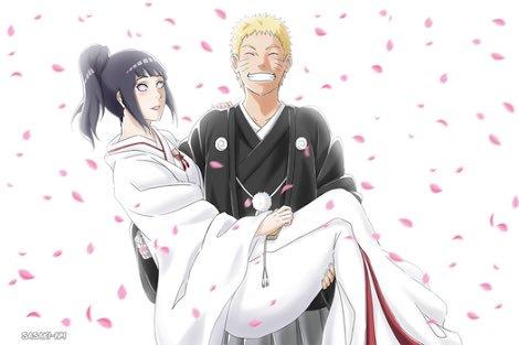 Naruto y Hinata en su Boda