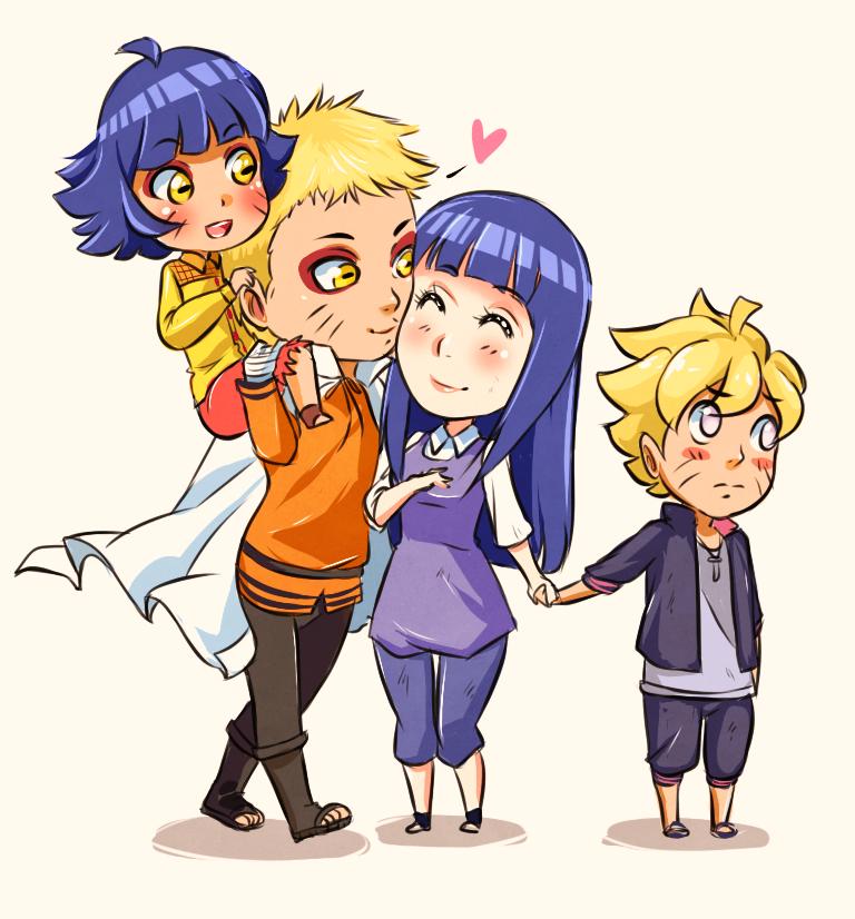 La familia de naruto