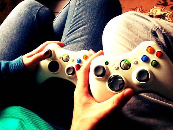 tu y yo jugando xbox - Videojuegos de pareja