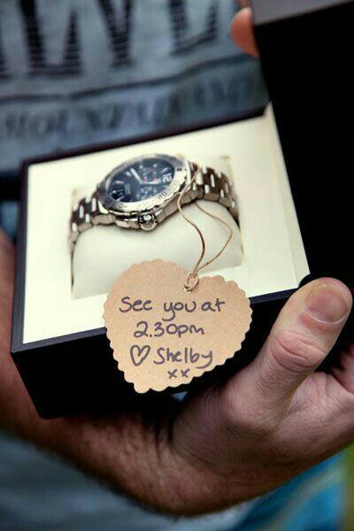 Regalar un reloj a mi novio