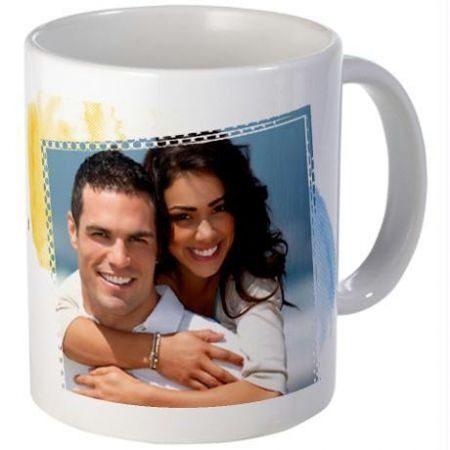 Taza personalizada con foto de pareja