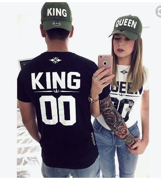 Lindos polos king y queen para novios