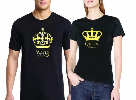 Polos king y queen negros