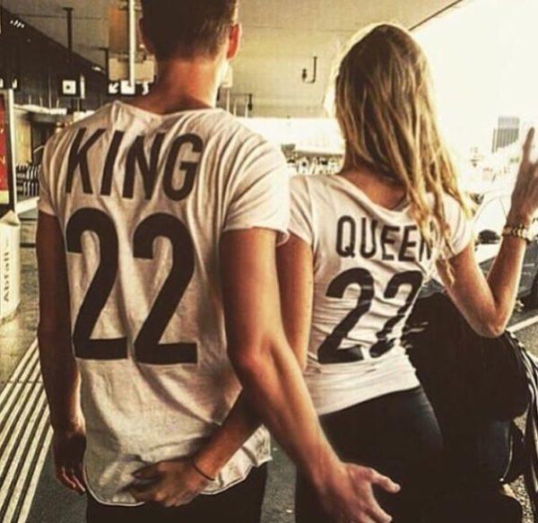 Ideas de polos king y queen atrevida