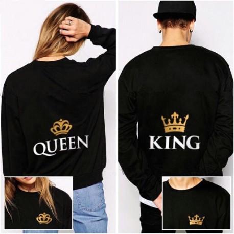 Sudadera king y queen