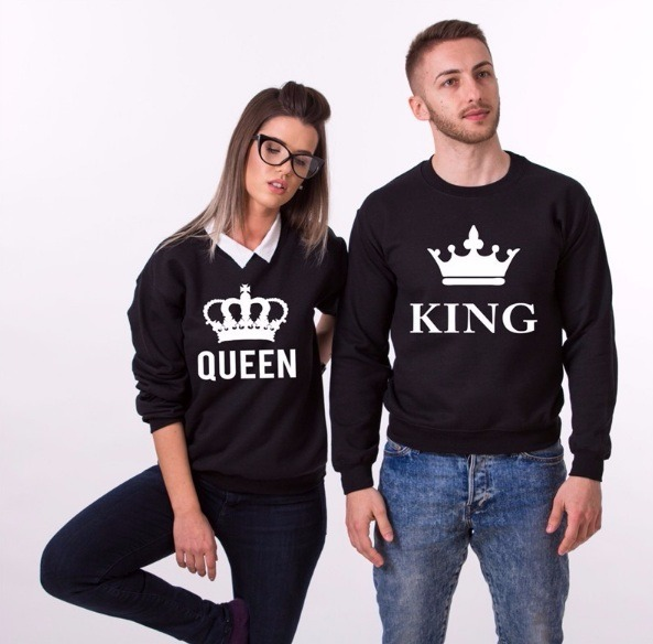 Camisa king y queen en pareja