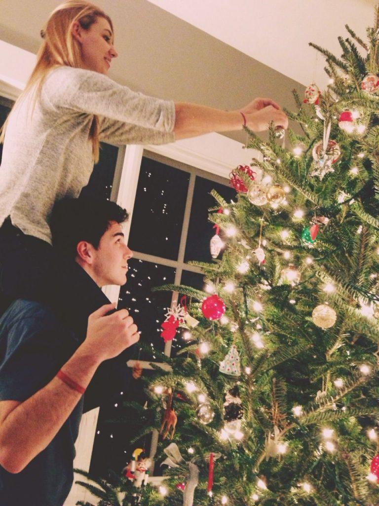 Fotos de Parejas Goals en Navidad