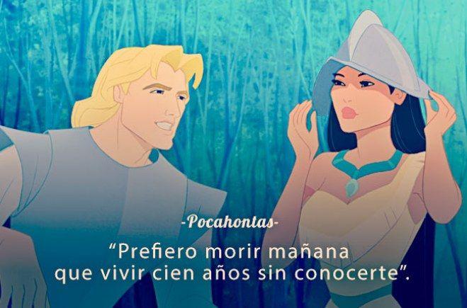 Frases de películas de Dinsey Pocahontas