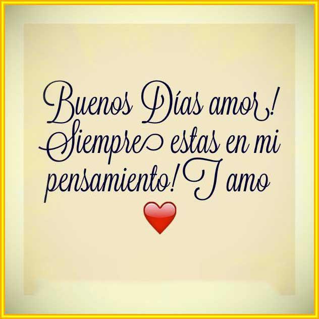 Frases De Buenos Días Amor Para Parejas Goals