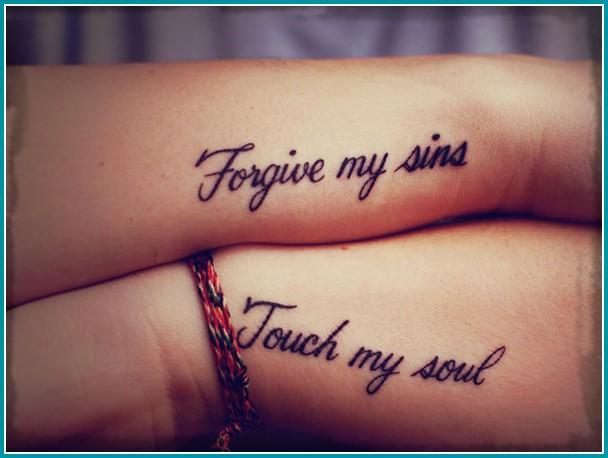 De 50 Ideas De Tatuajes En Pareja Prejas Goals